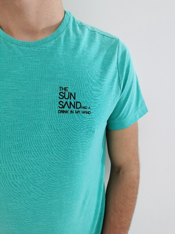 Camiseta Oyhan Verde