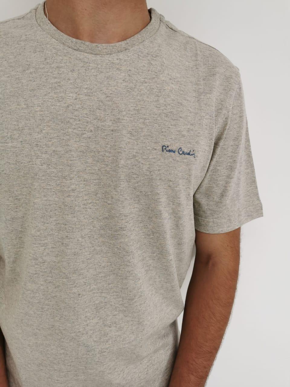 Camiseta Pierre Cardin Bege