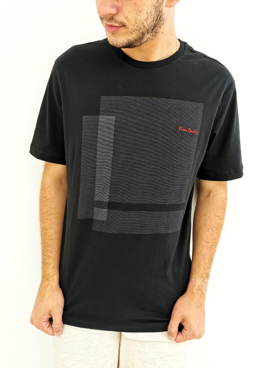 Camiseta Pierre Cardin Preto