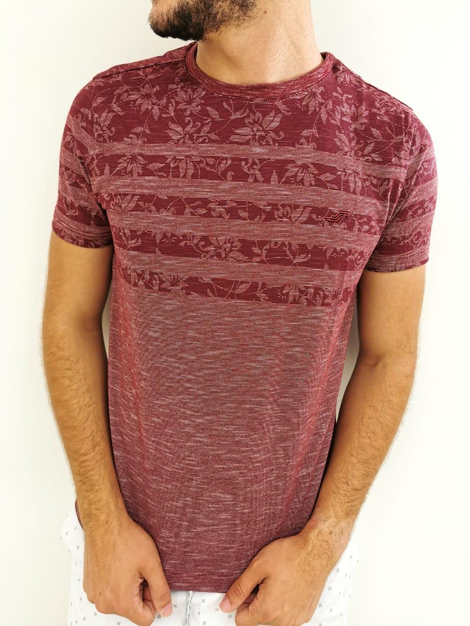 Camiseta Sakapraia Vinho