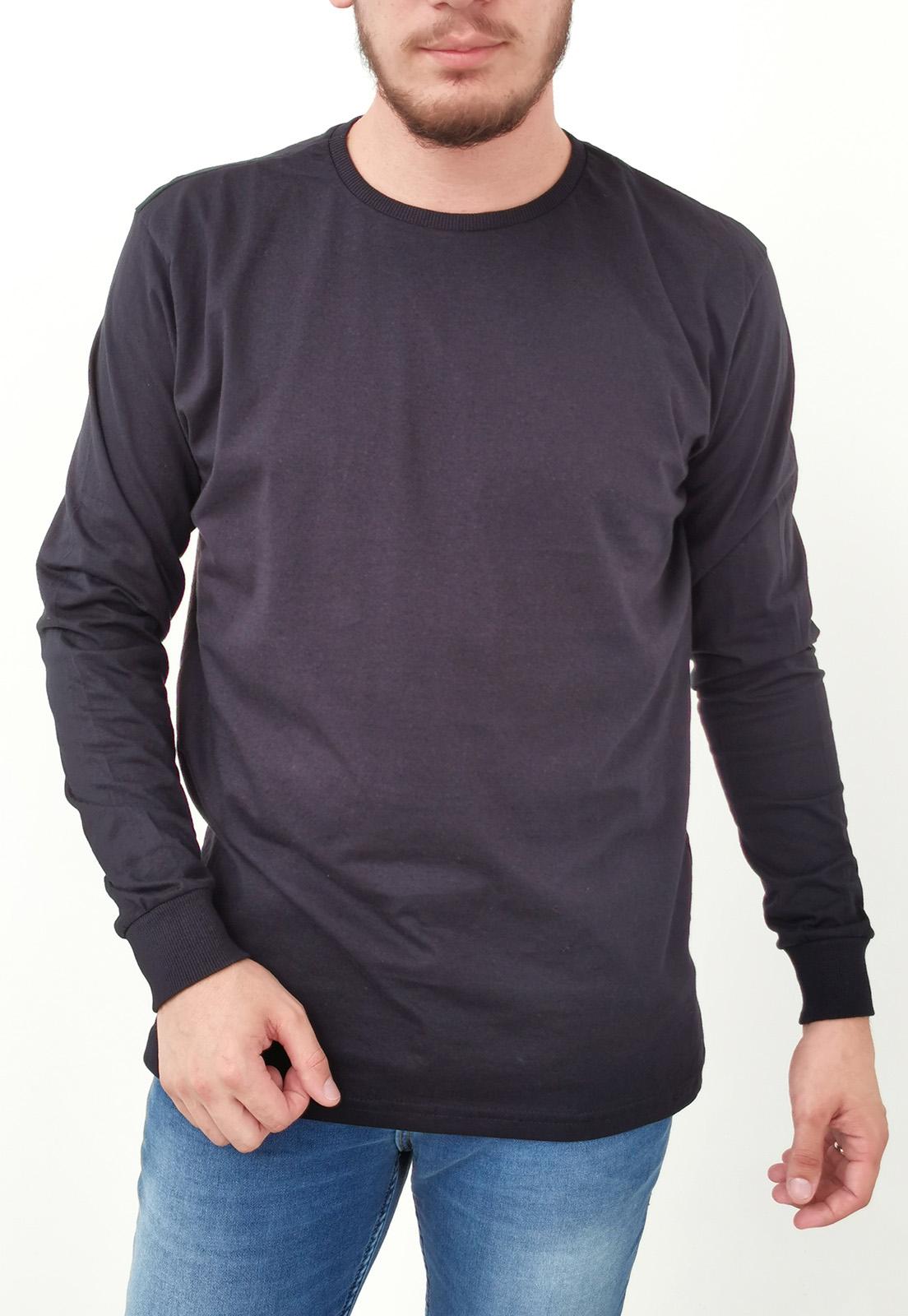 Camiseta Tigs Manga Longa Preto Básica
