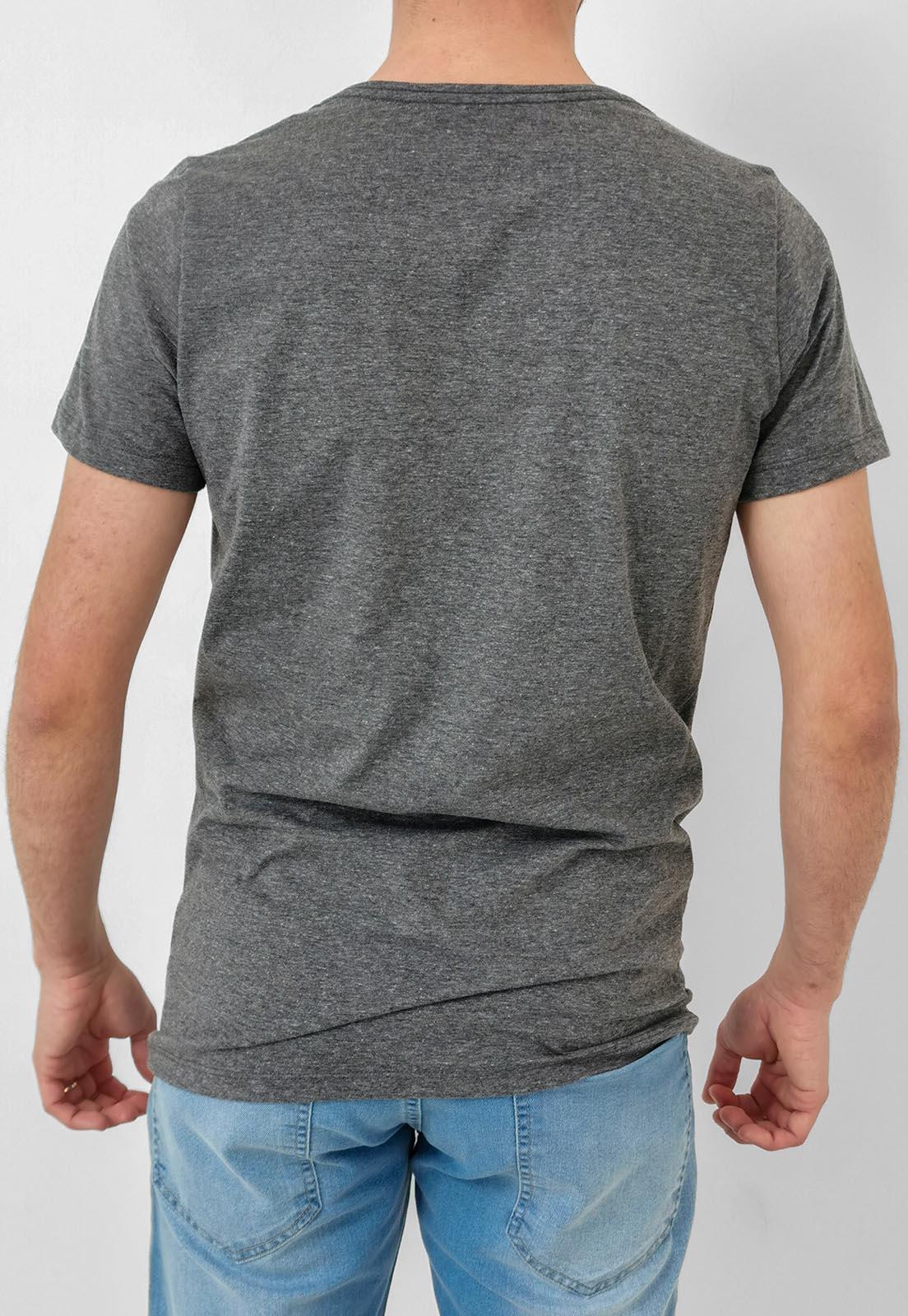 Camiseta Wolke Cinza Mescla
