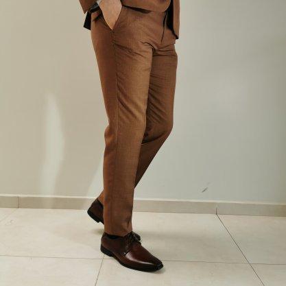 Costume Raffer Cool Super Slim Terra com Forro Contrastante