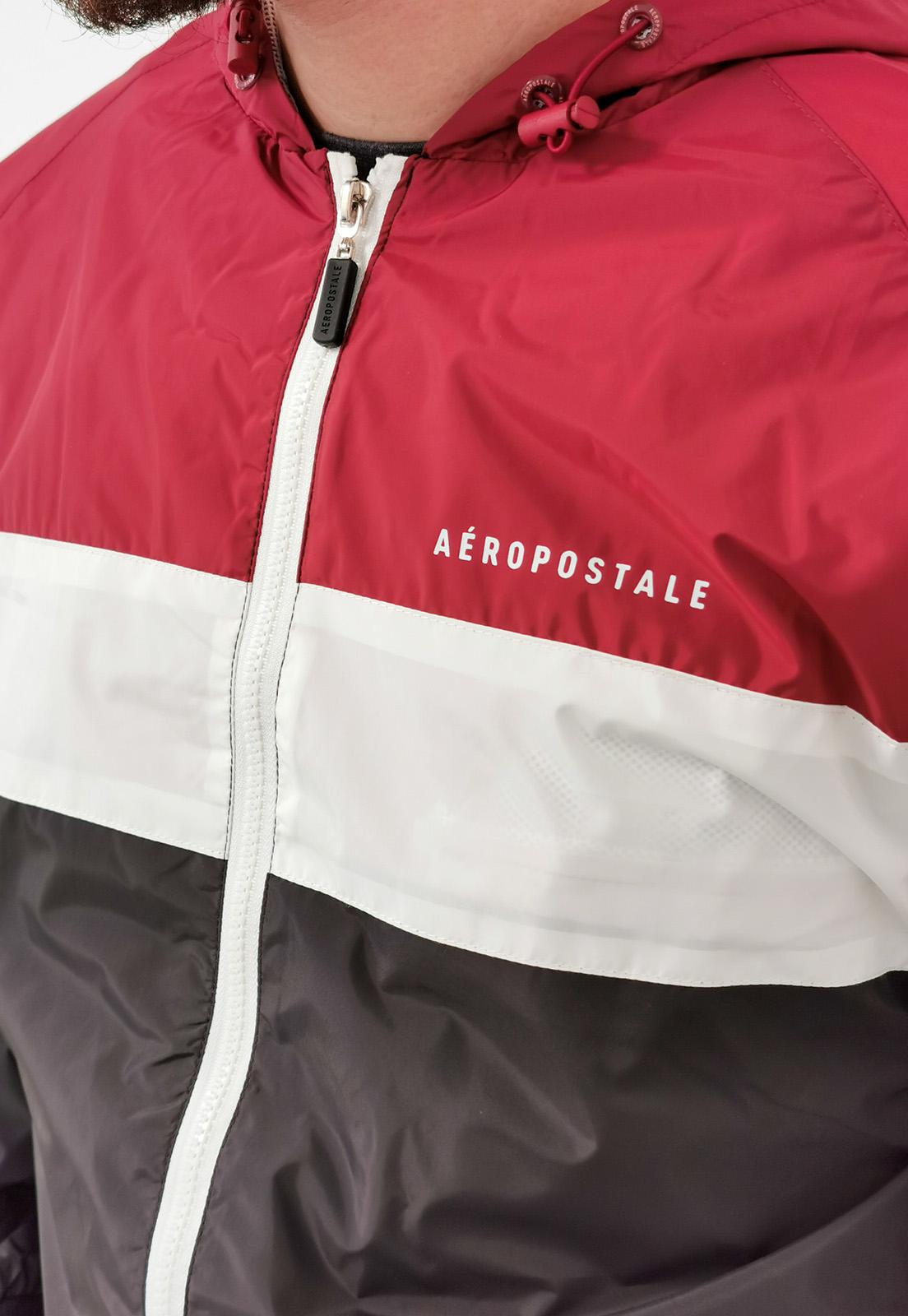 Jaqueta Aeropostale Corta Vento Vermelho