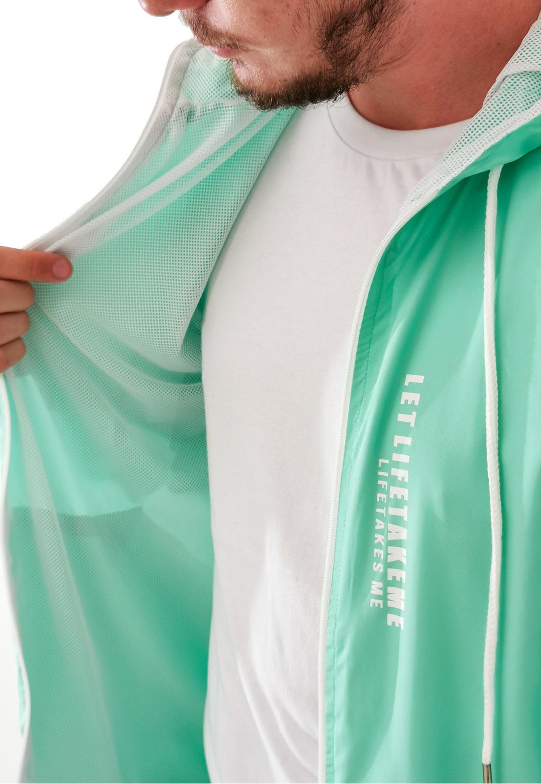 Jaqueta Corta Vento Shilmar Verde Claro