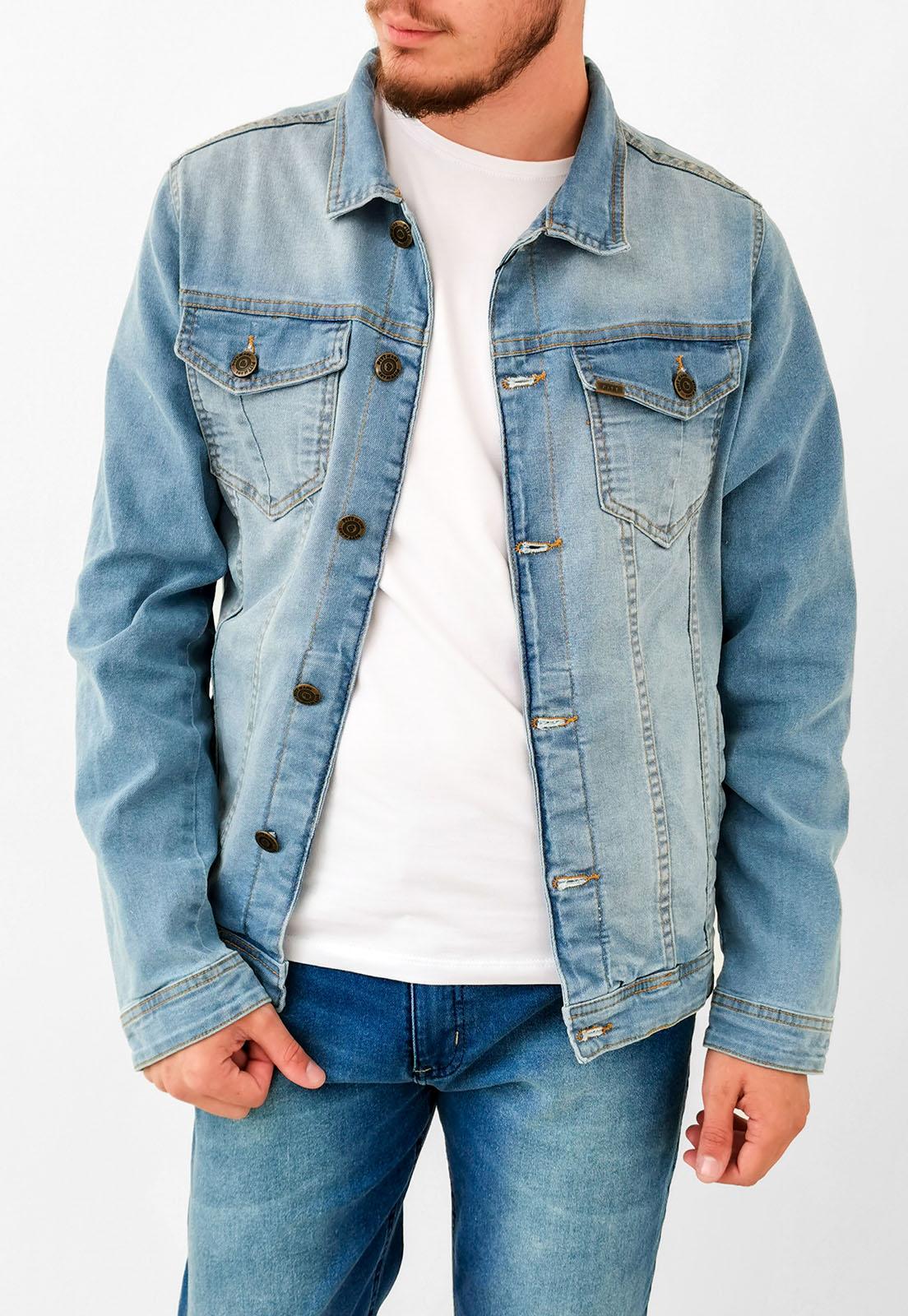 Jaqueta Jeans Pitt