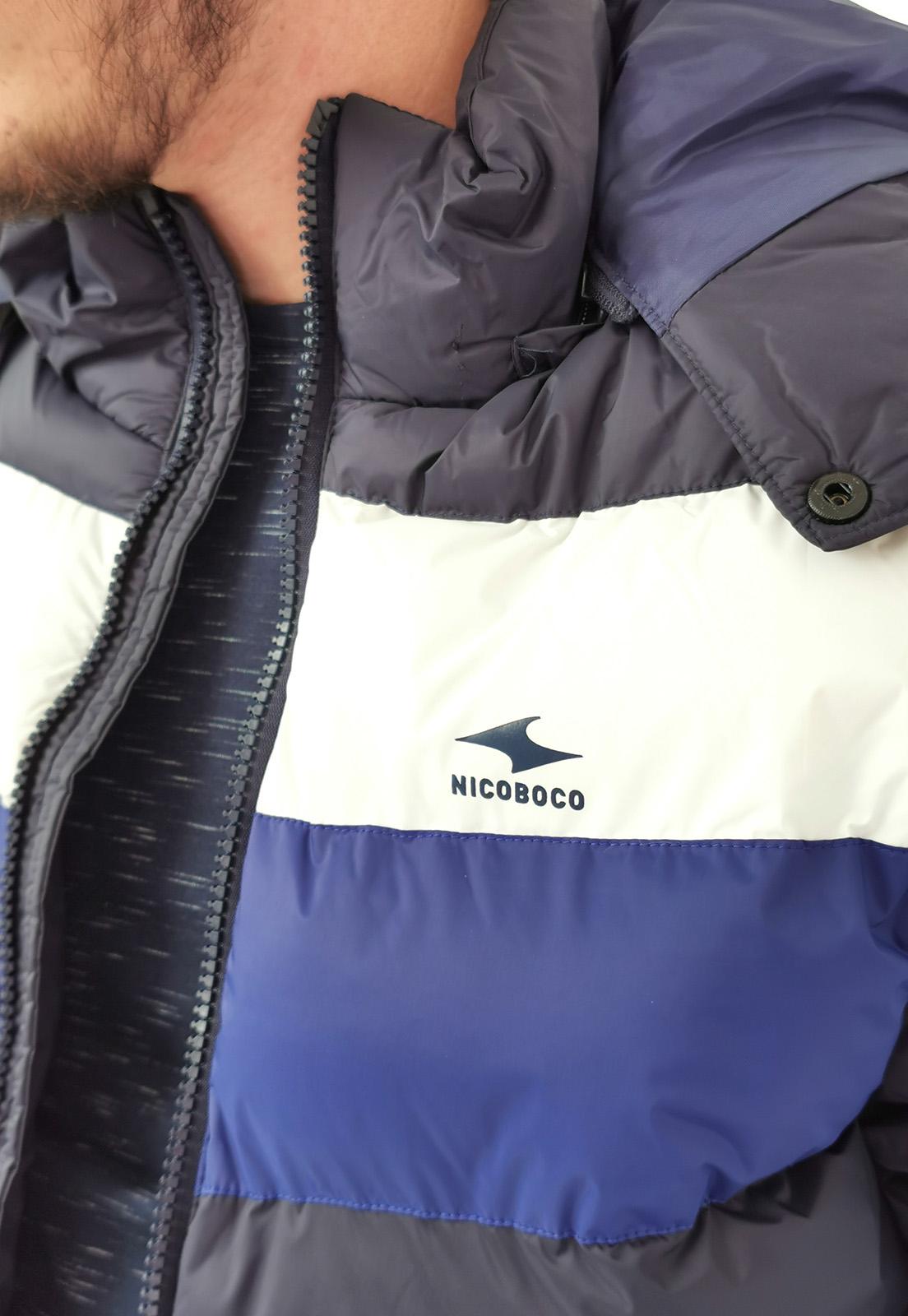 Jaqueta Nicoboco Azul Marinho