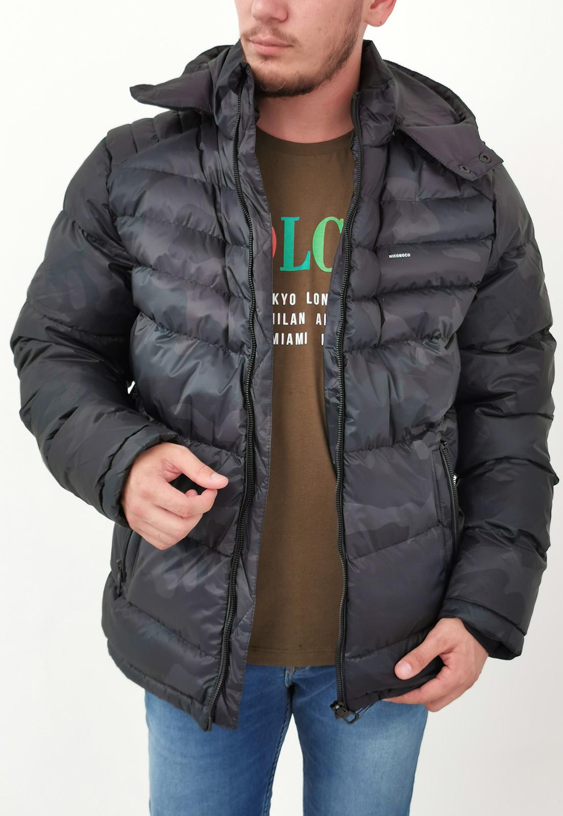 Jaqueta Nicoboco Camuflada Verde Militar