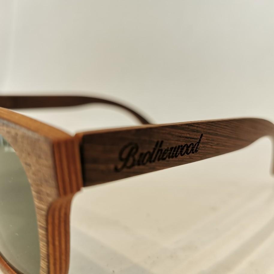 Óculos Brotherwood Surf Feito a Mão em Madeira