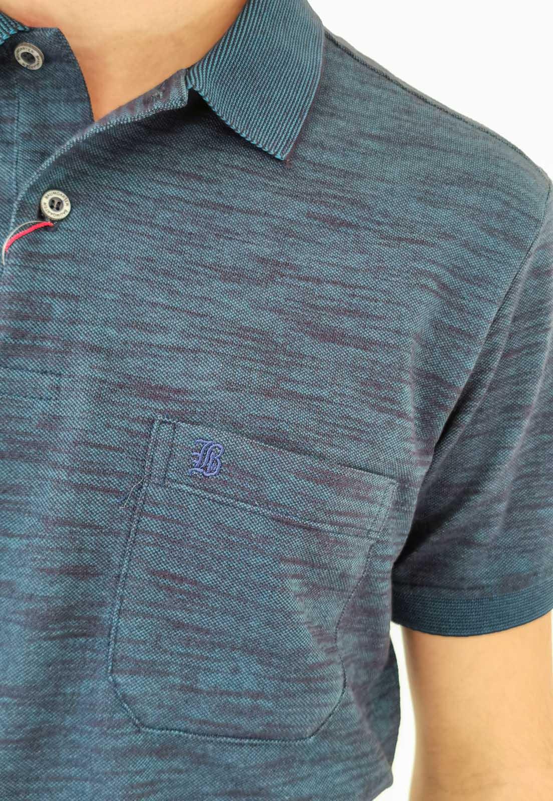 Polo Baumgarten Azul