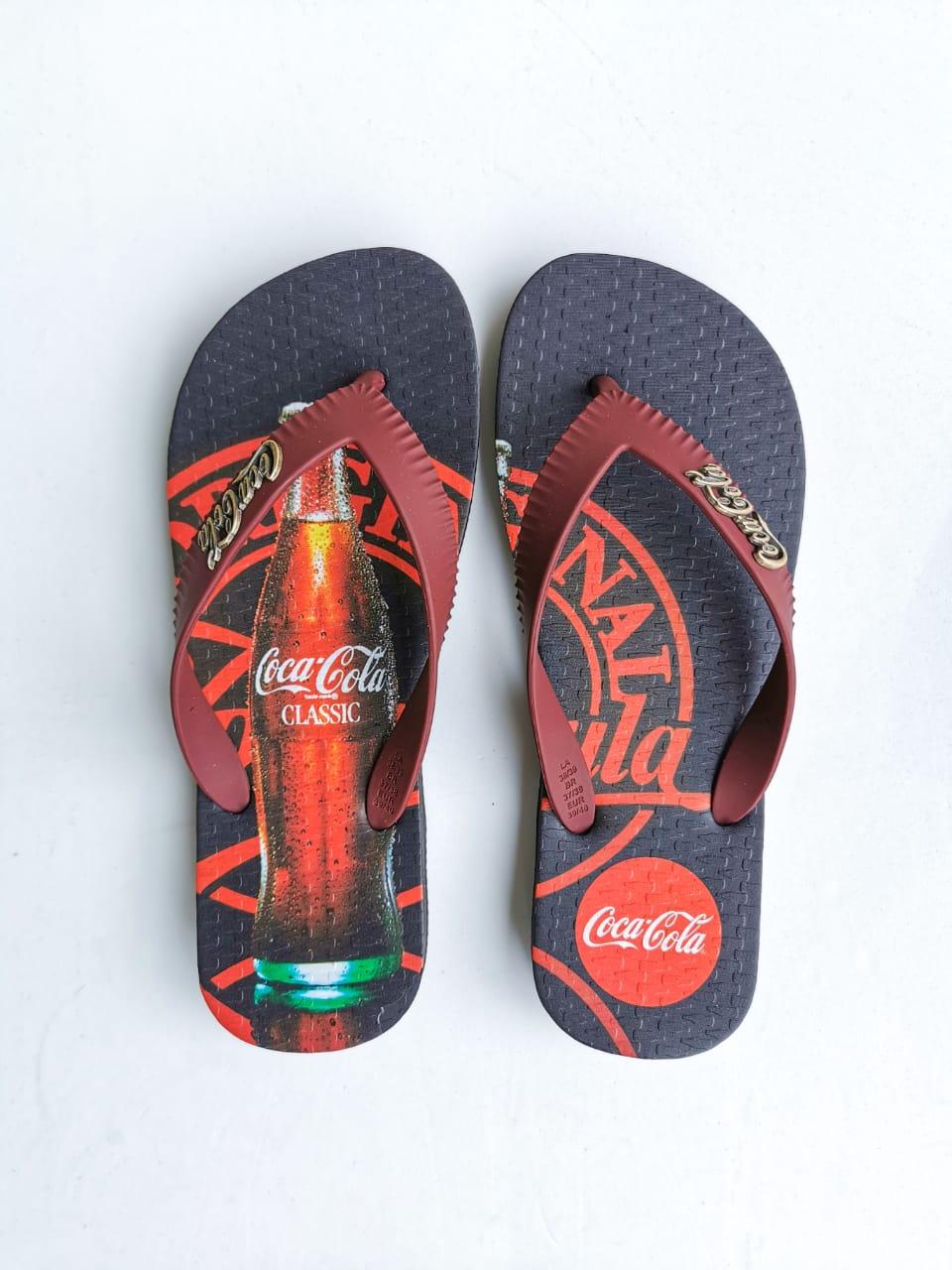 Sandália Coca-Cola Preto FORMULA
