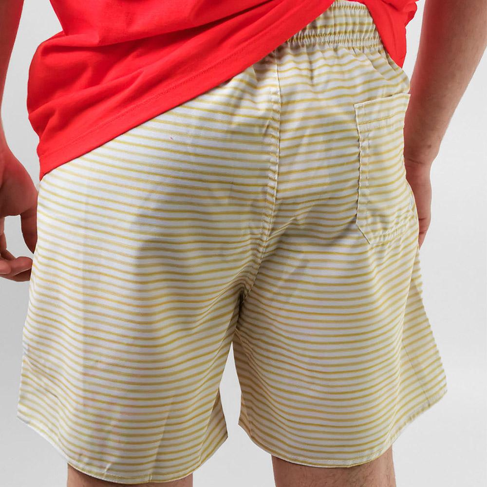 Shorts Bermuda King Joe Amarelo Listra