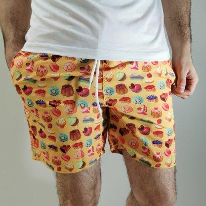 Shorts Desert Laranja Doces