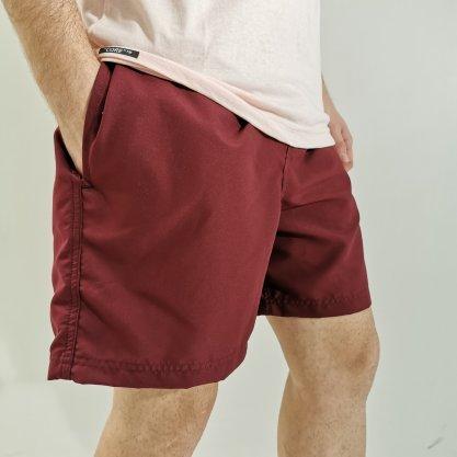 Shorts Oracon Básico Bordô