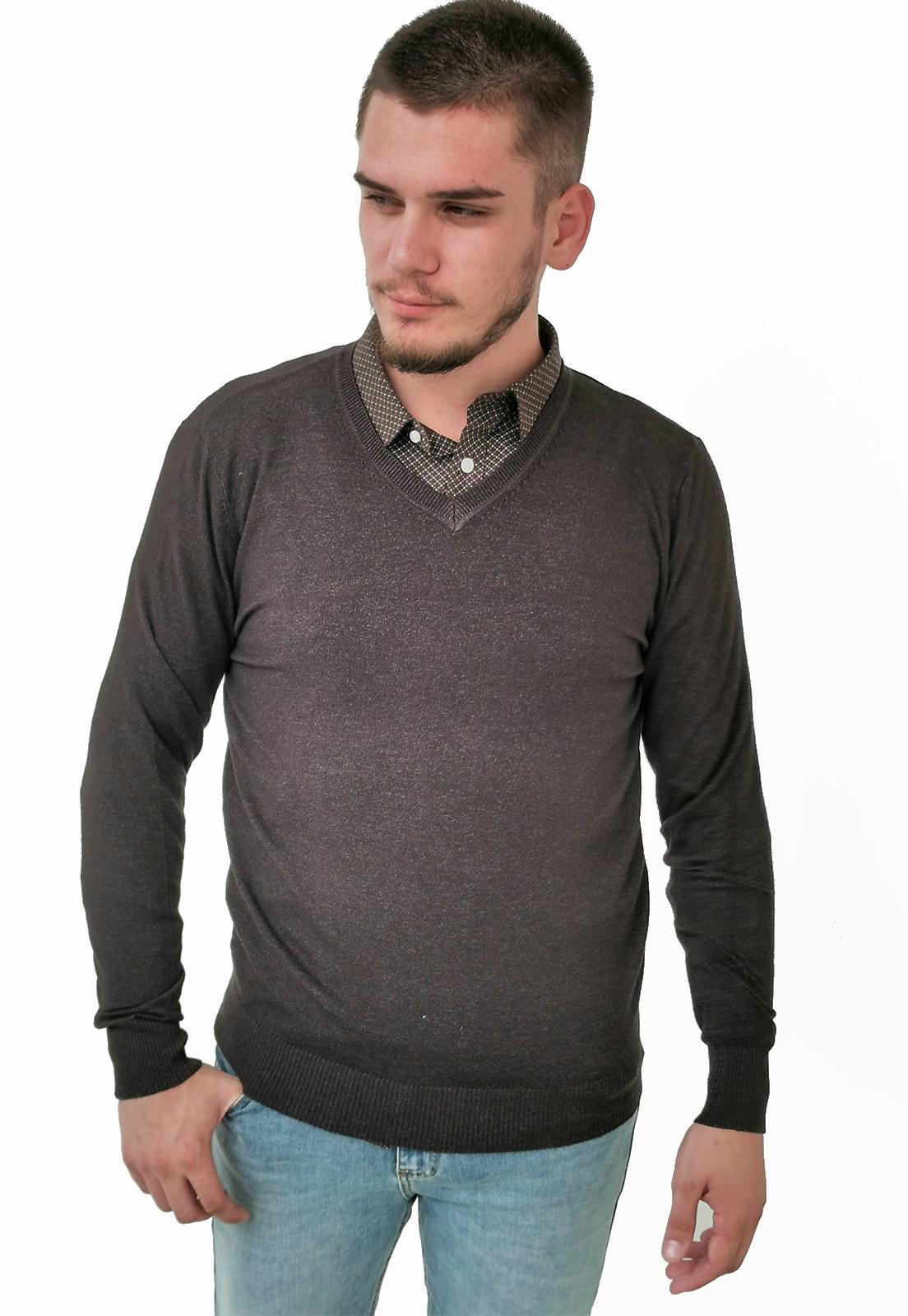 Suéter Dunialin Chumbo
