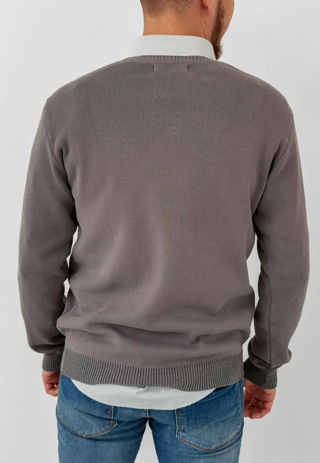 Suéter Vibrus Cinza Básico