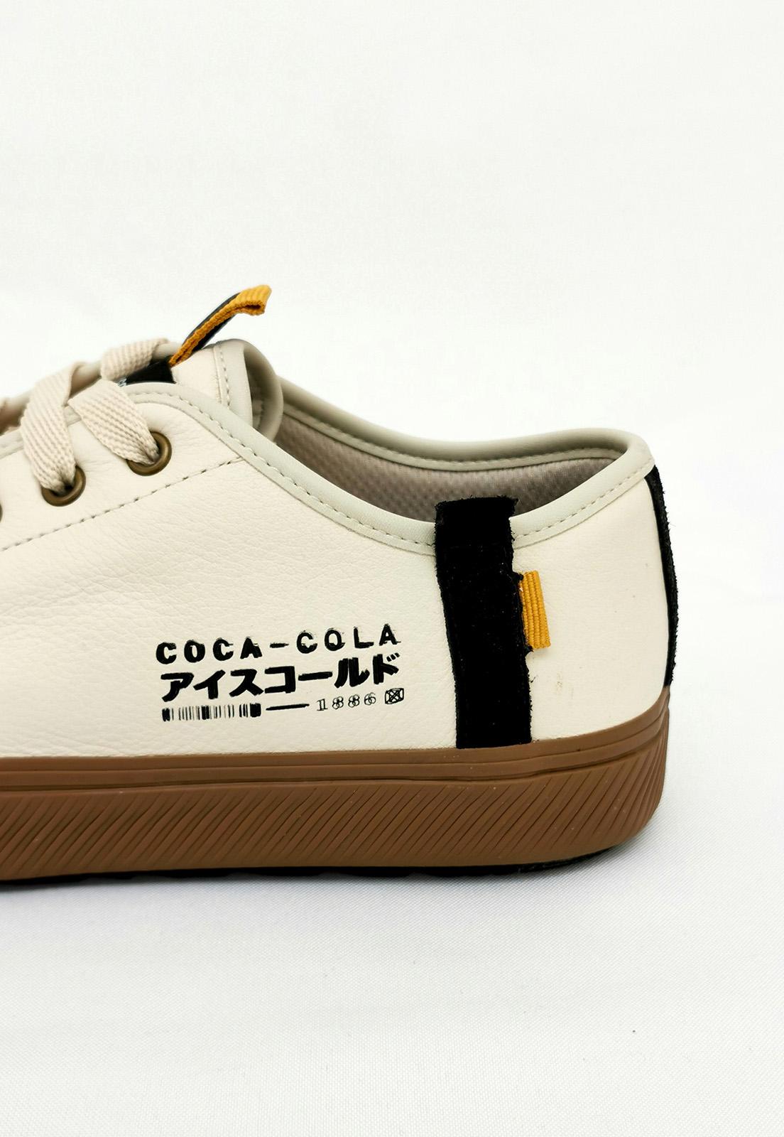 Tênis Coca-Cola Off White Japão