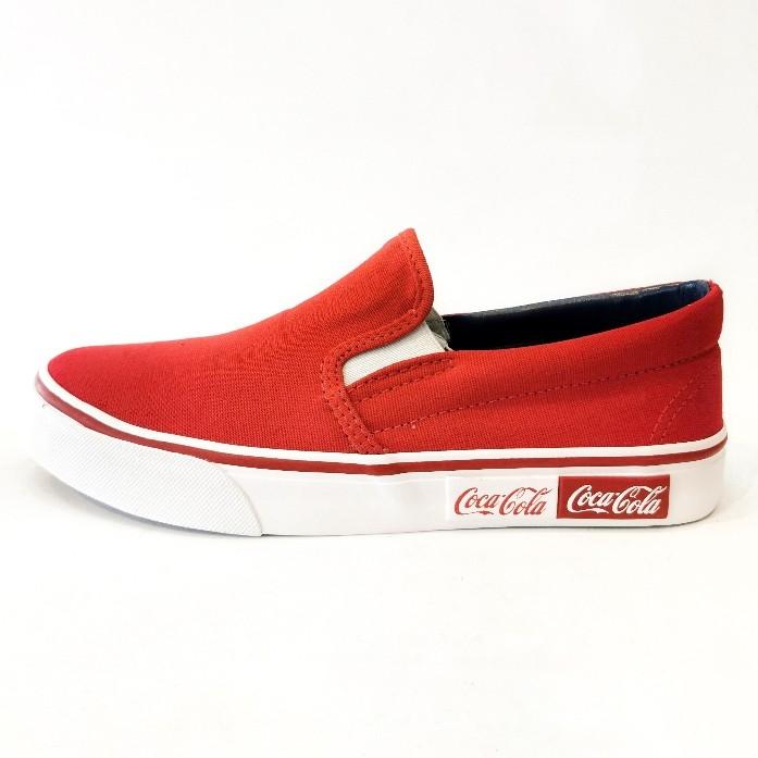 Tênis Tênis Coca-Coca Vermelho