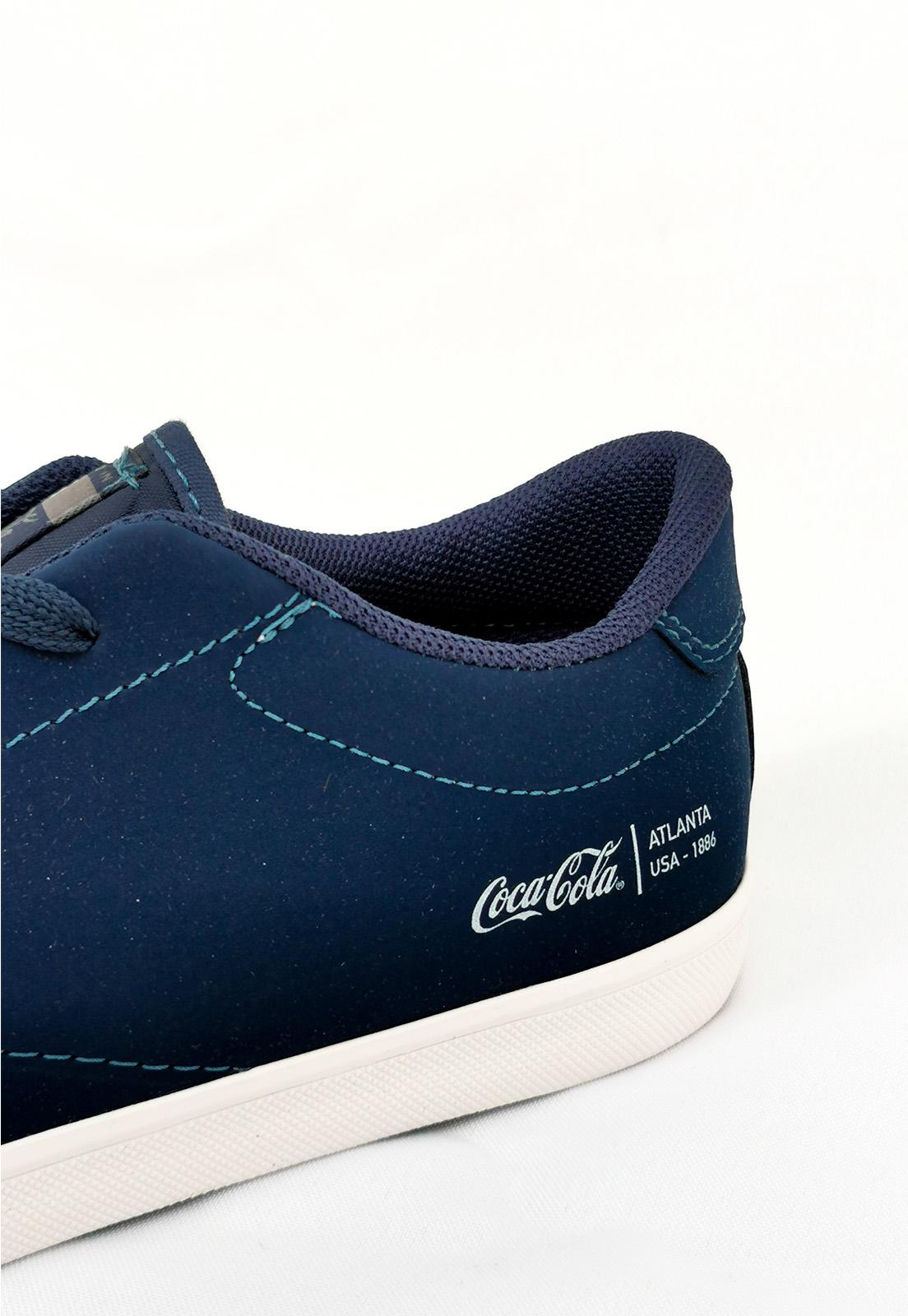 Tênis Coca-Cola Yankee Azul Marinho