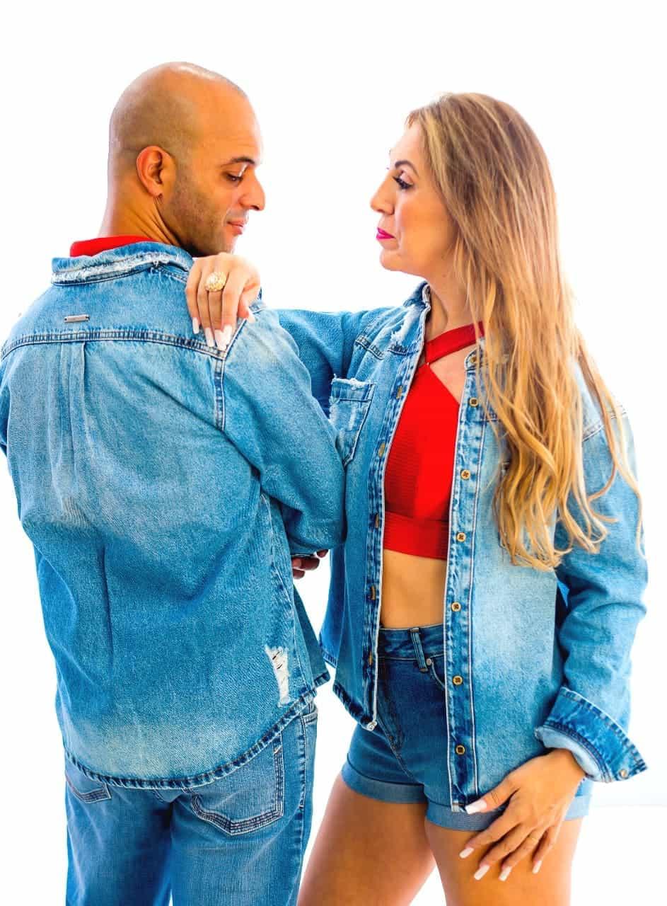 Camisa Jeans Clara Unissex Ágata