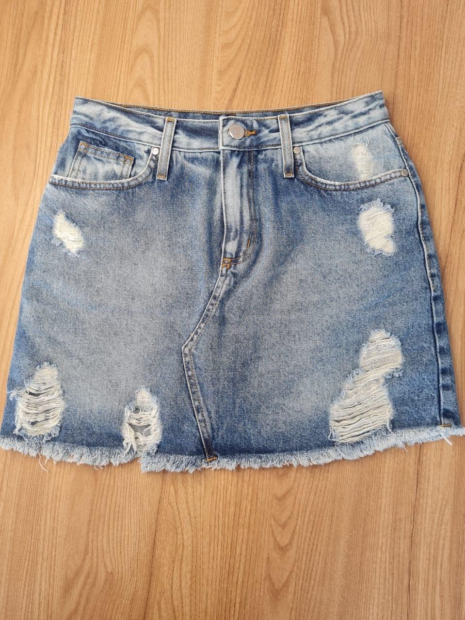 Shorts Saia Jeans Kentuchy Citrino