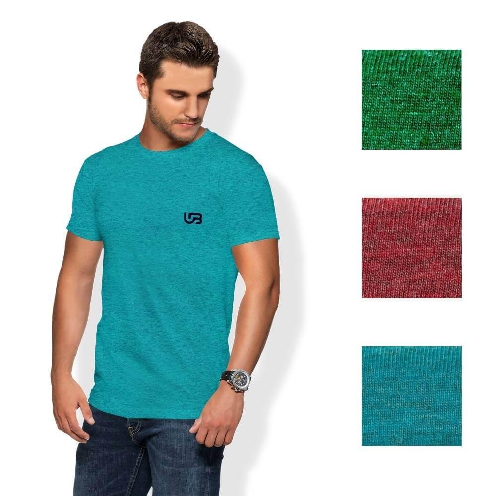 Camiseta Masculina Mesclado Colorido UB COLLECTIONS Estampada