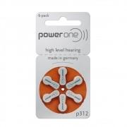 Pilha Auditiva Power One 312/PR41