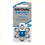 Pilha Auditiva Rayovac Implant Pro+