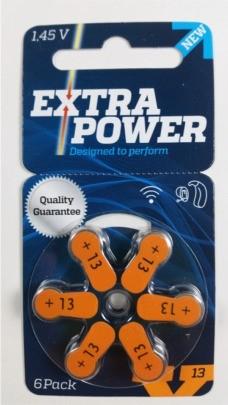 Pilha Auditiva Extra Power p13MF