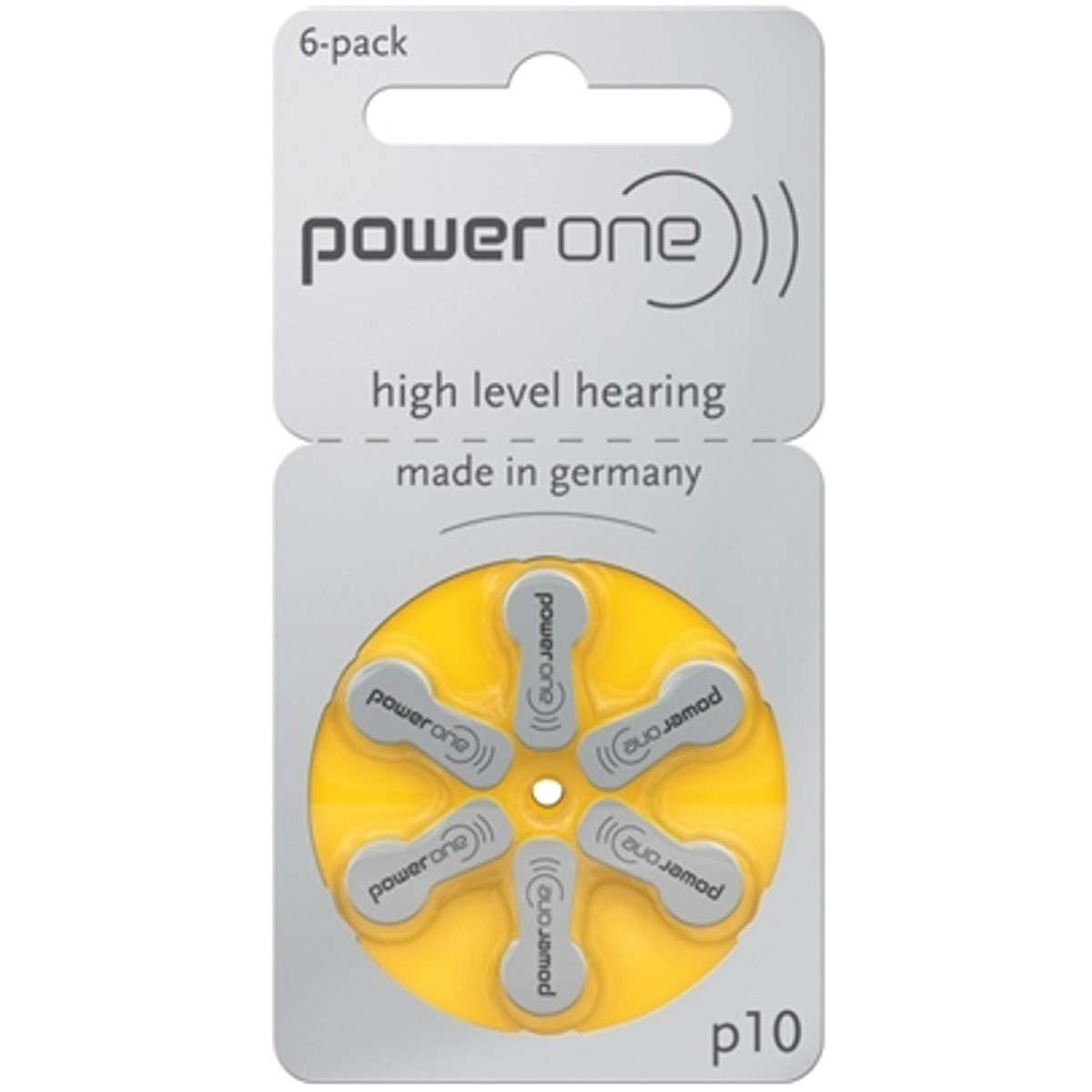 Pilha Auditiva Power One 10/PR70