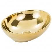 Cuba de Apoio Oval Gold Dourada 41x33 CUBA01