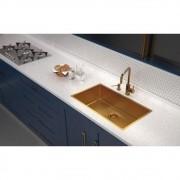 Dosador de Sabão Tramontina Aço inox Gold 500ml