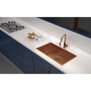 Dosador de Sabão Tramontina Aço Inox Rose Gold 500ml