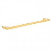 Toalheiro Porta Toalhas de Banho de Parede Dourado Gold Lux 60cm