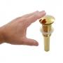 Válvula Click Redonda Gold Dourado Nias