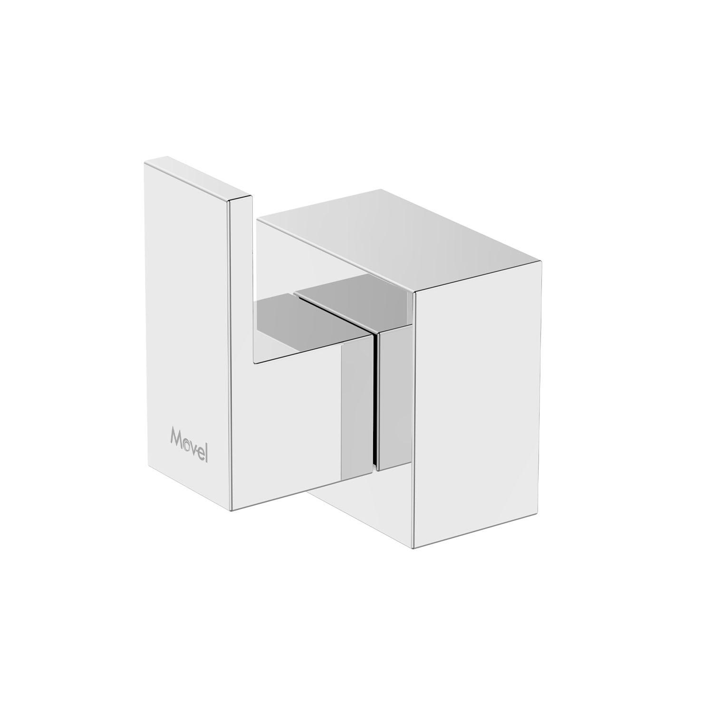 Acabamento Quadrado Cubo Registro Base Docol Cromado