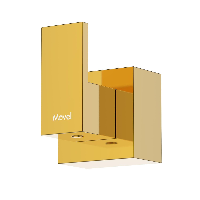 Acabamento Registro Quadrado Gold Dourado Cubo Base Docol