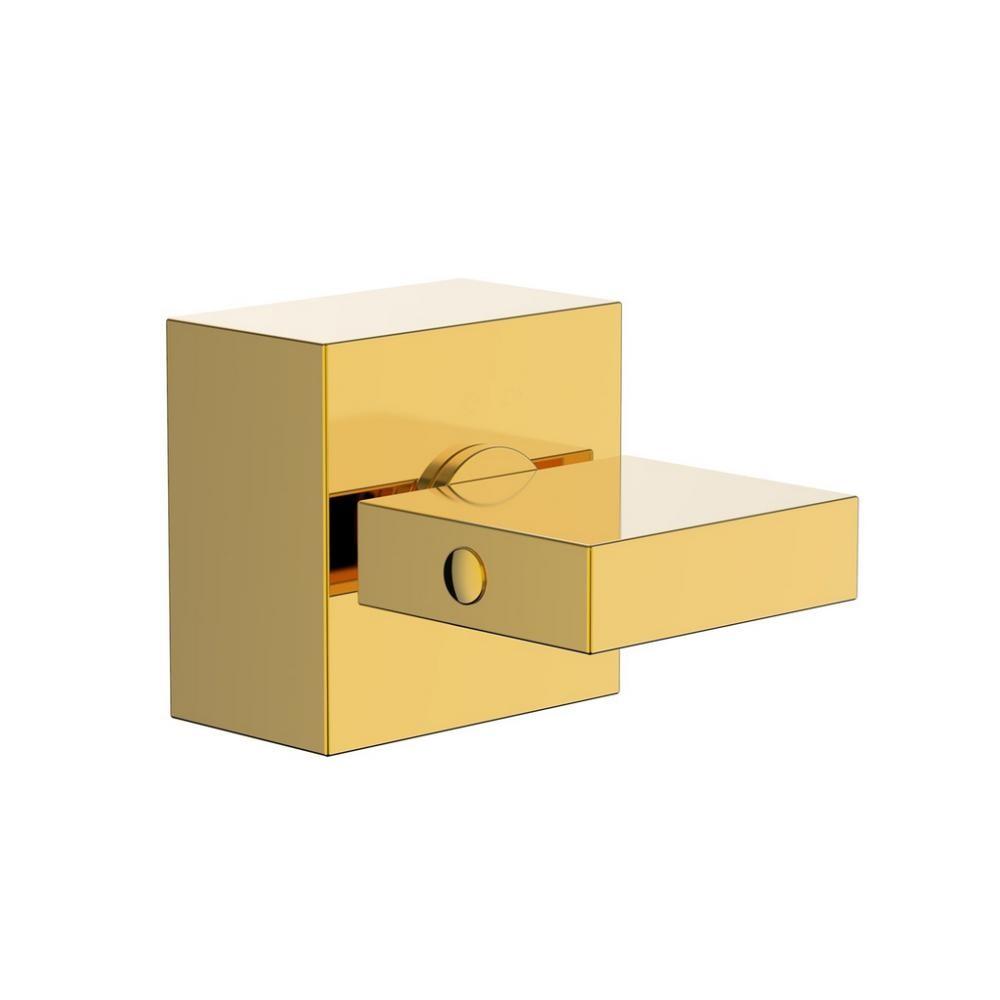 Acabamento Registro Quadrado Lux Base Docol Dourado Gold
