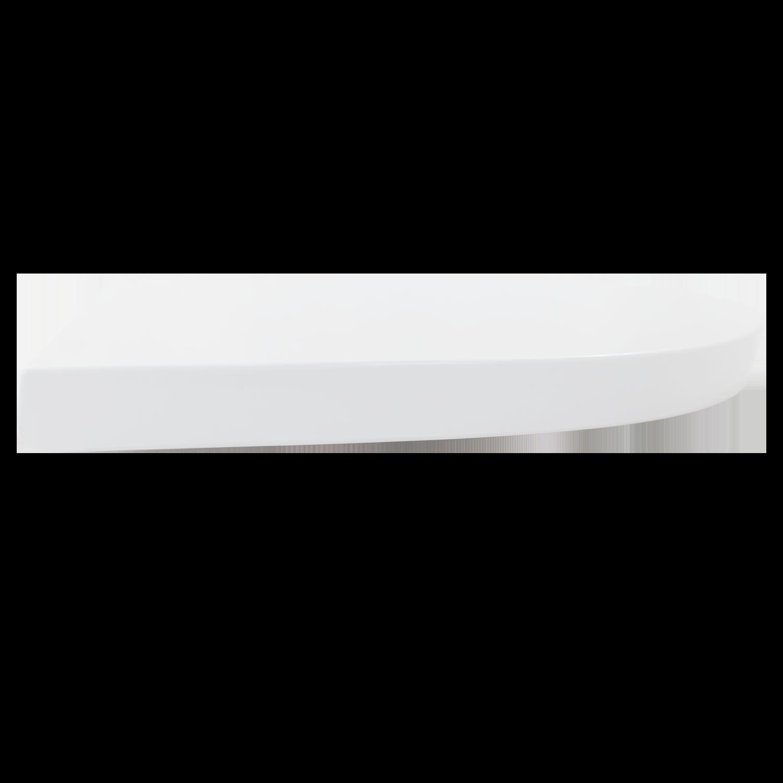 Assento Sanitário Soft Close Plástico Branco Fluir Antigo