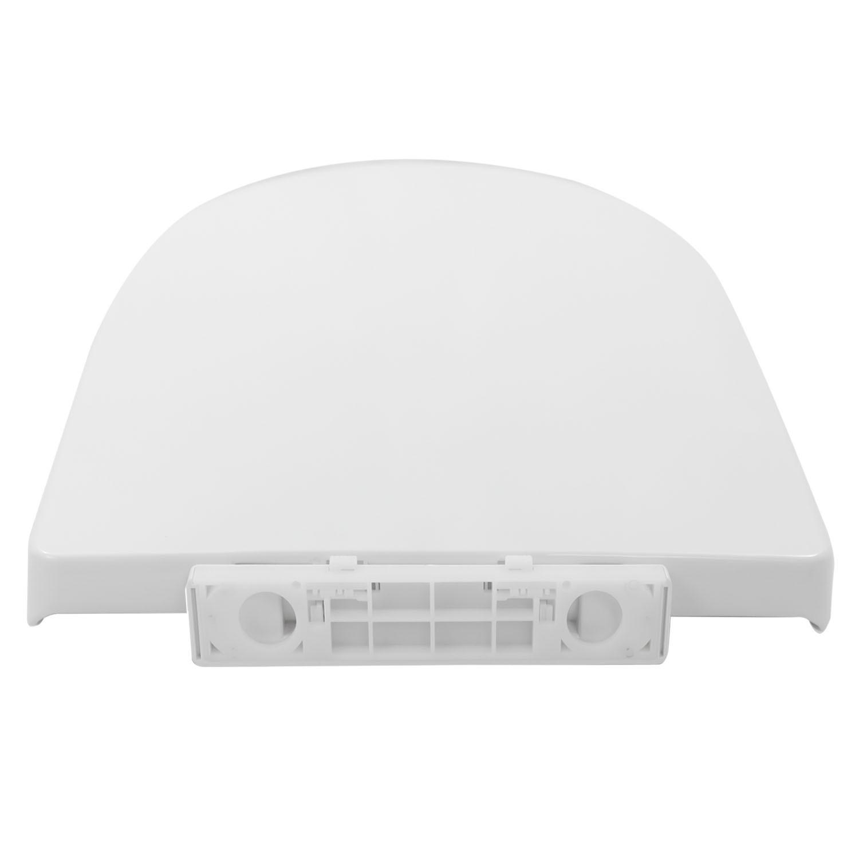 Assento Sanitário Soft Close Plástico Branco Nias Convencional