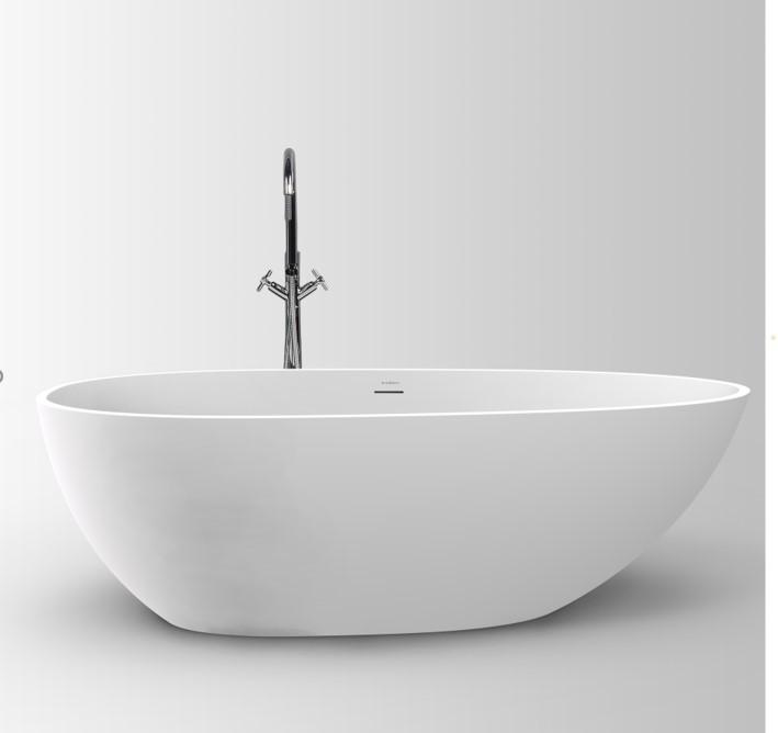 Banheira de Imersão Pedra Fundida Doha 1500 Branco