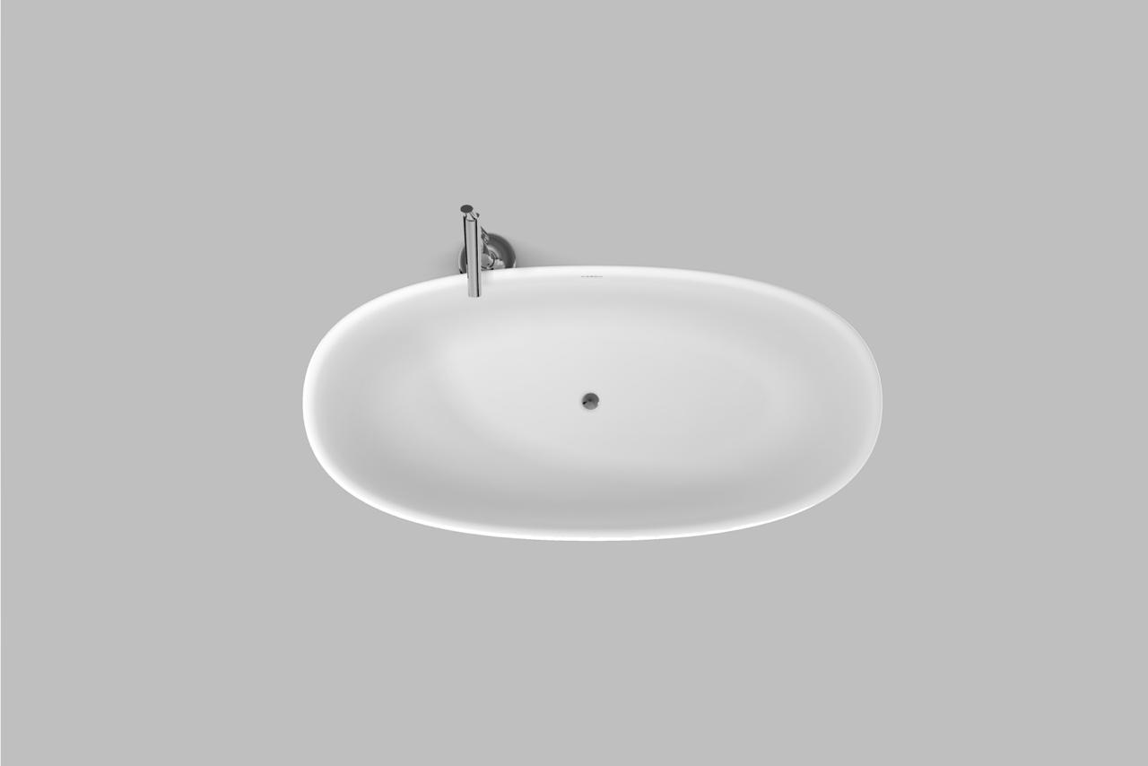 Banheira de Imersão Pedra Fundida Fluir 1700 Branco