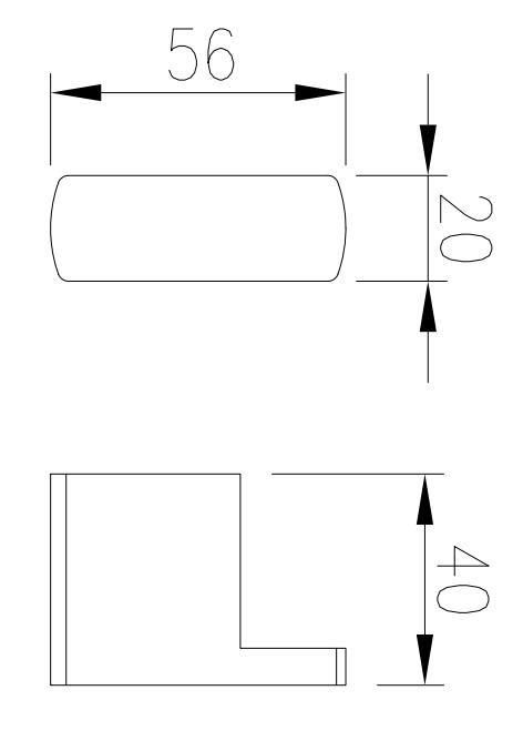 Cabide Gancho Porta Toalhas de Parede Cromado Lux