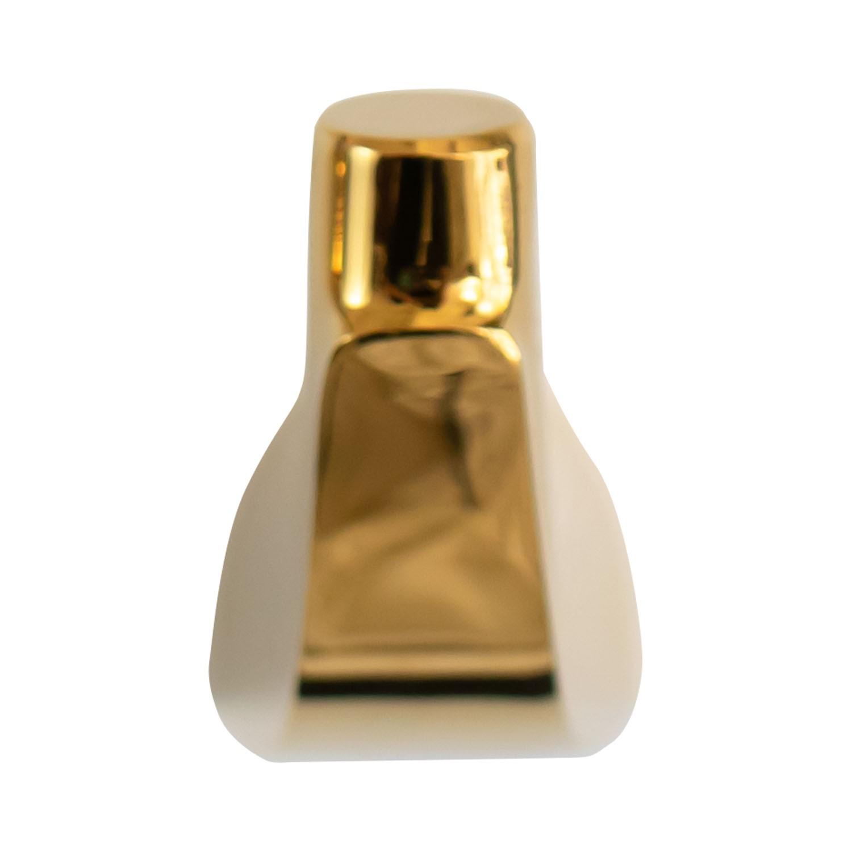Cabide Gancho Porta Toalhas de Parede Dourado Gold Nias
