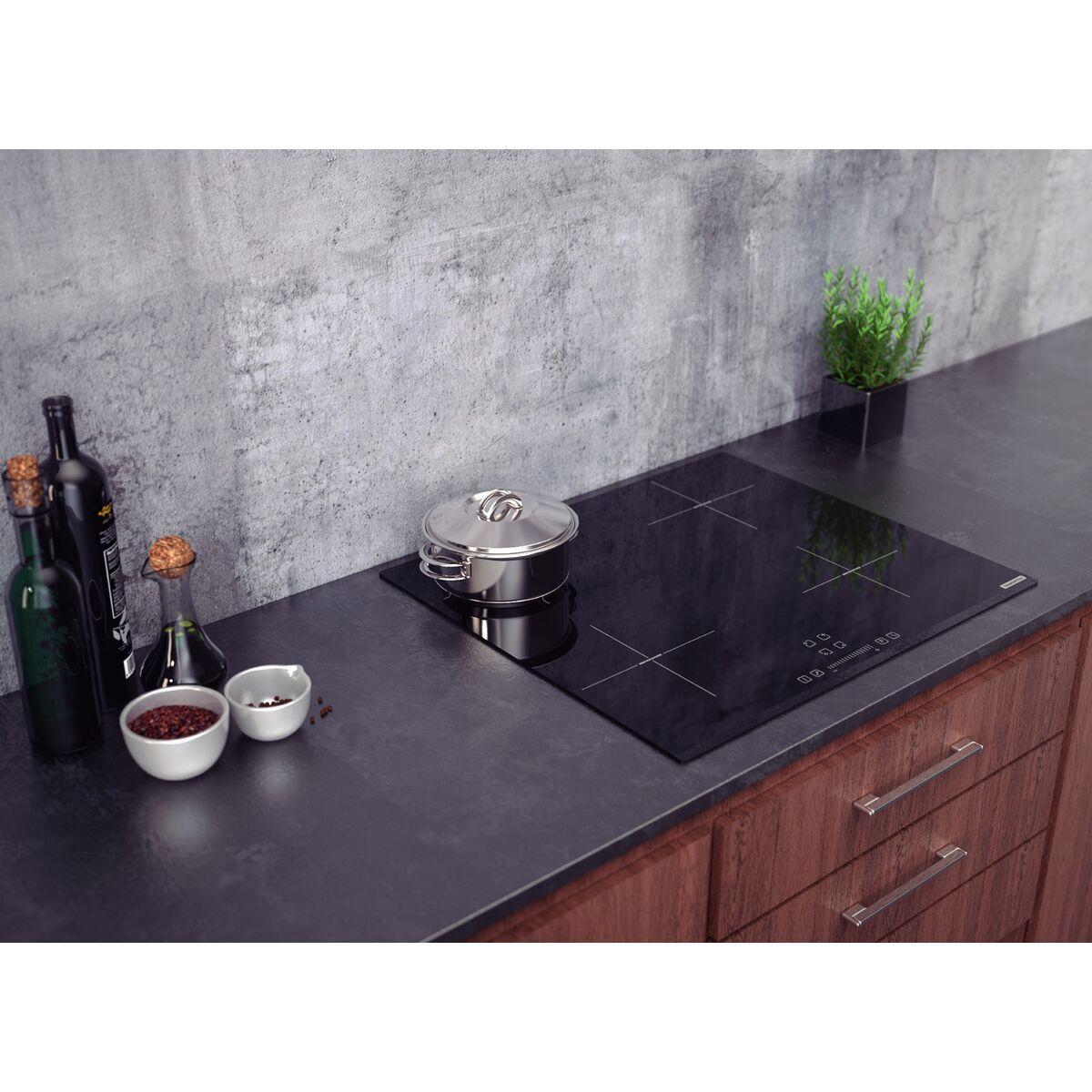 Cooktop por Indução Tramontina Square Slider B 4EI 60 220V
