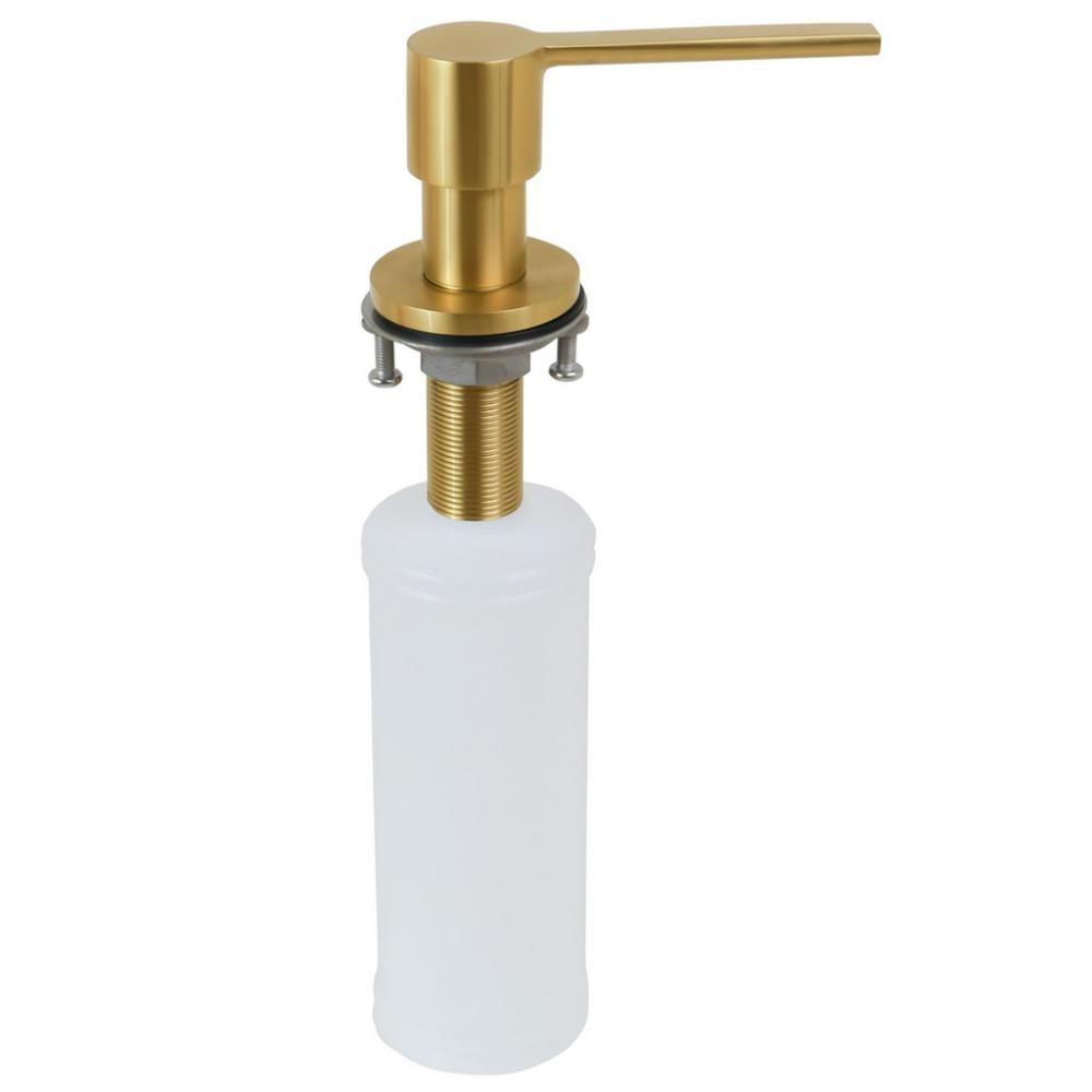 Dosador Dispenser Detergente  Sabonete Líquido Gold Inox 350ML