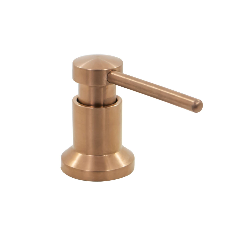 Dosador Dispenser Sabonete Líquido Inox 350ML Rose Gold