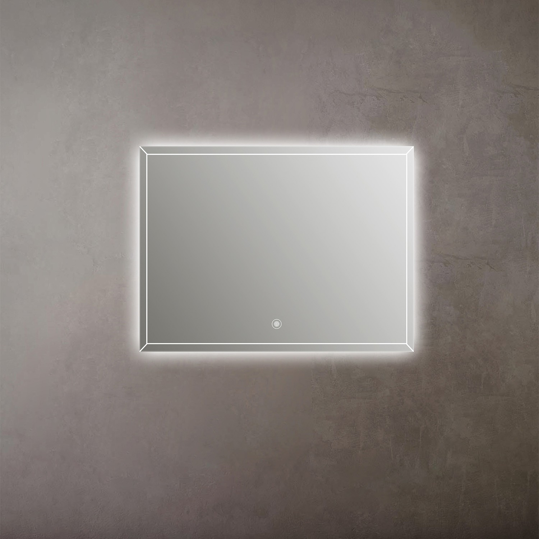 Espelho LED Touch Antiembaçante de Parede Lux 800