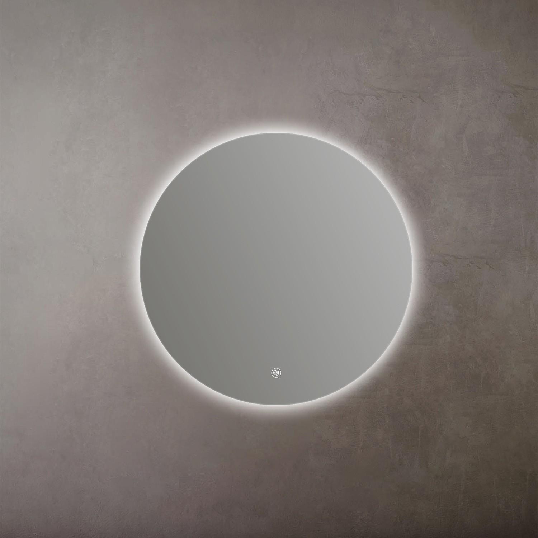Espelho LED Touch Antiembaçante de Parede Nias 800