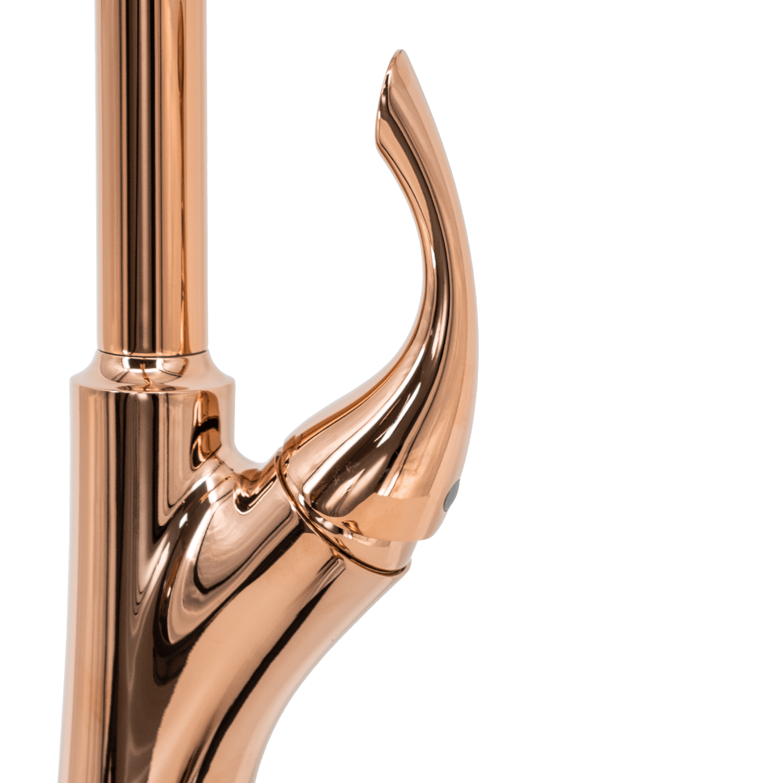 Misturador G Extensível Rose Gold Nias Com Kit Filtro